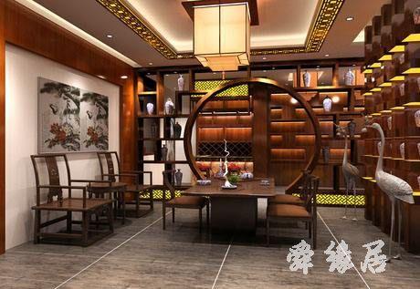 古香古韵的茶店起名